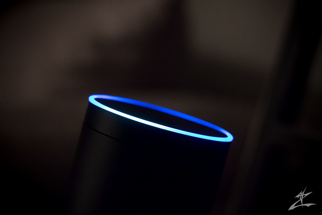 Amazon Echo - photo CC BY-NC-ND Flickr user michaeljzealot